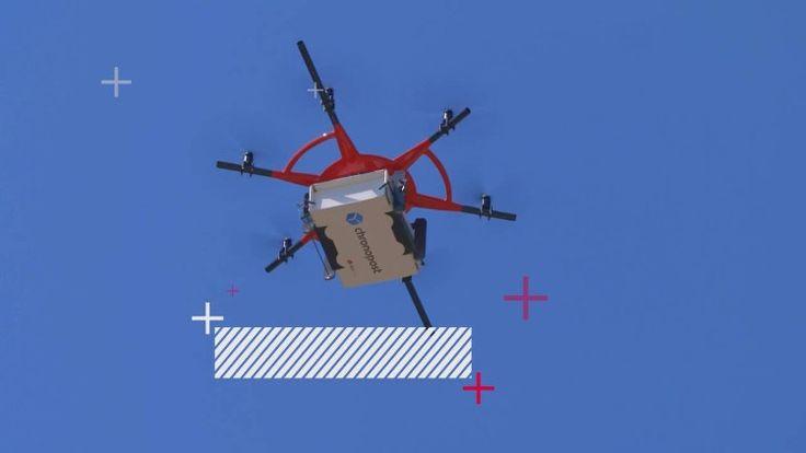 Почтовая служба Франции вооружилась дронами