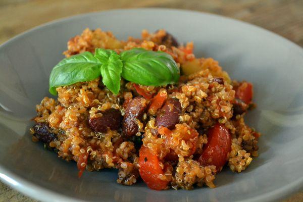 Chili con quinoa - Gluten free chili, tastes awesome!