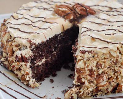 Beki Cook's Cake Blog: Pecan Turtle Cake Recipe