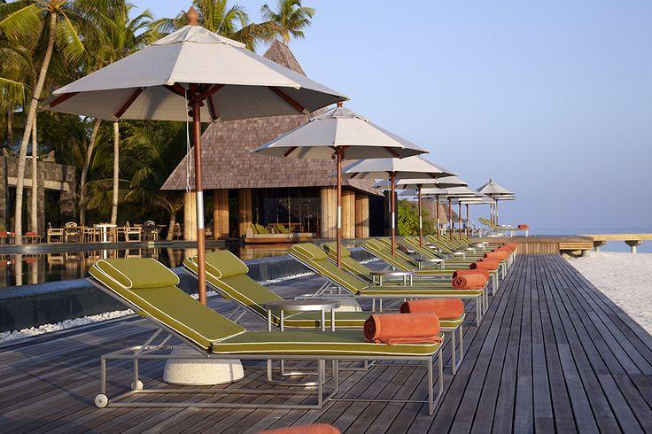 Anantara Kihavah Maldives Villas - outdoor lounges