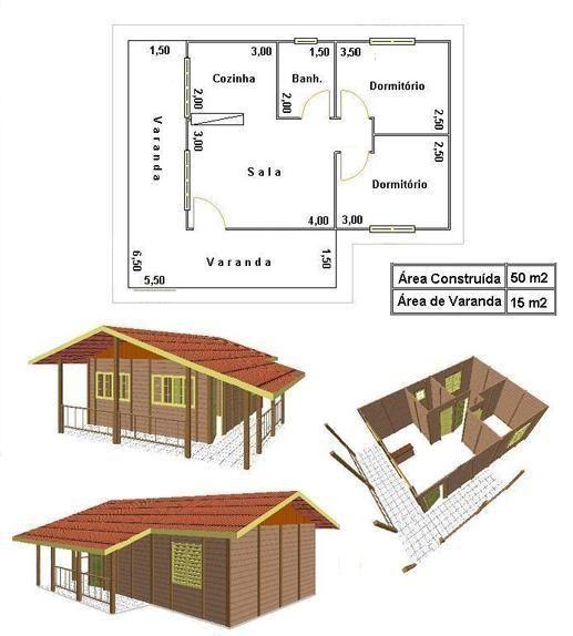 Para quem procura plantas de casas de madeira, encontre algumas imagens nesse post, separamos por modelos pequenos, médios e até sobrados para lhe ajudar.