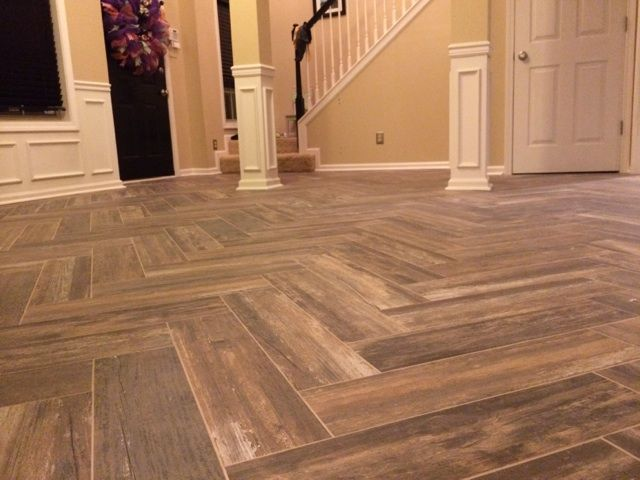 17 best images about my dining room remodel on pinterest herringbone warm and sun Wood pattern tile