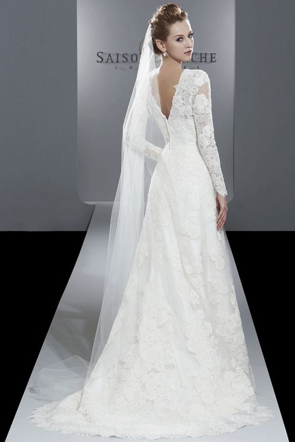 Winter wedding dress by AislingH