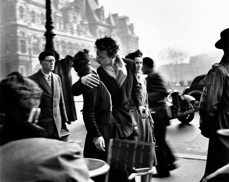 Foto di baci famosi - Il bacio di Robert Doisneau