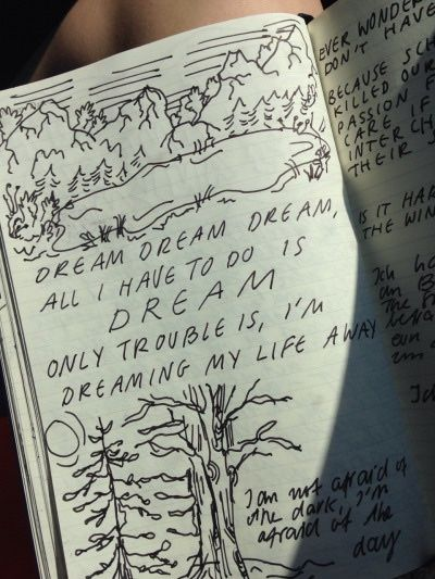 """my journal pages, while i was on the way to france ☺️"" by midnight-car-rides"