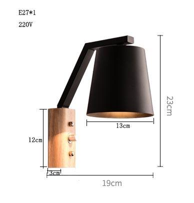 Japanische Moderne Holz Eisen Wandleuchten Wandlampen Wohnzimmer Restaurant  Schlafzimmer Dekorative Wandleuchten Lamparas Hause E27 In Japanische