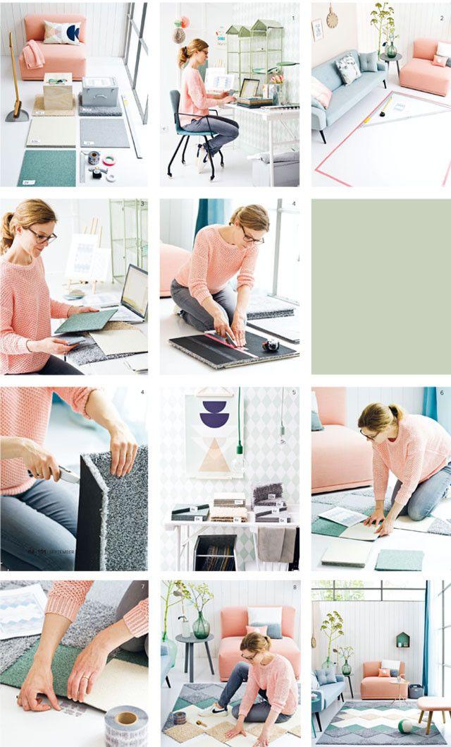 Op zoek naar het ultieme kleed? Stop met zoeken en maak er zelf een van tapijttegels. Mooi, makkelijk en er zijn heel veel variaties mogelijk. Aan de slag met het stappenplan!