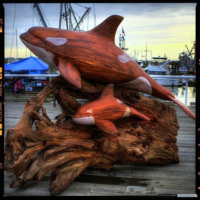 Whale Of A Time In #Steveston - Public Art