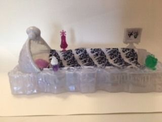 Monster High - Cama Da Abbey Bominable - R$ 130,00 em Mercado Livre