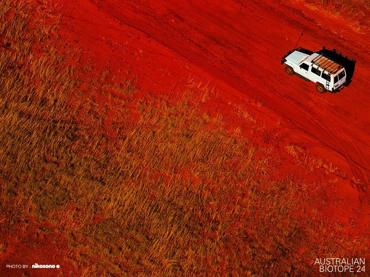 """""""4wd track, Western Australia"""" by nikosono - from the """"Australian Biotope"""" photographic series"""