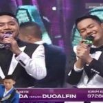 Duo Alfin Yang Tersenggol Tadi Malam D'Academy 3 Konser Result Top 5 tgl 15 April Tadi Malam
