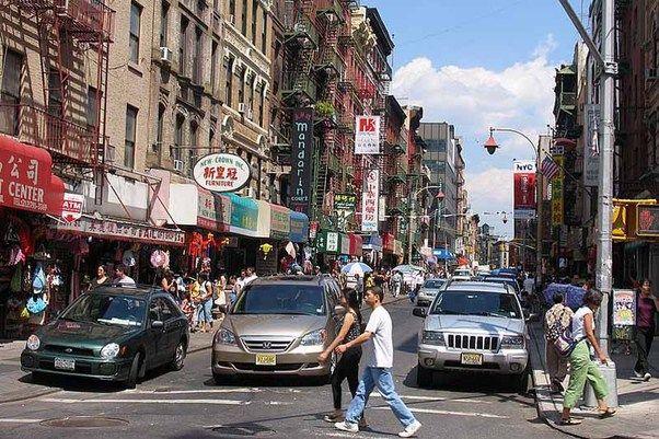 De karakteristieke sfeer van Chinatown.