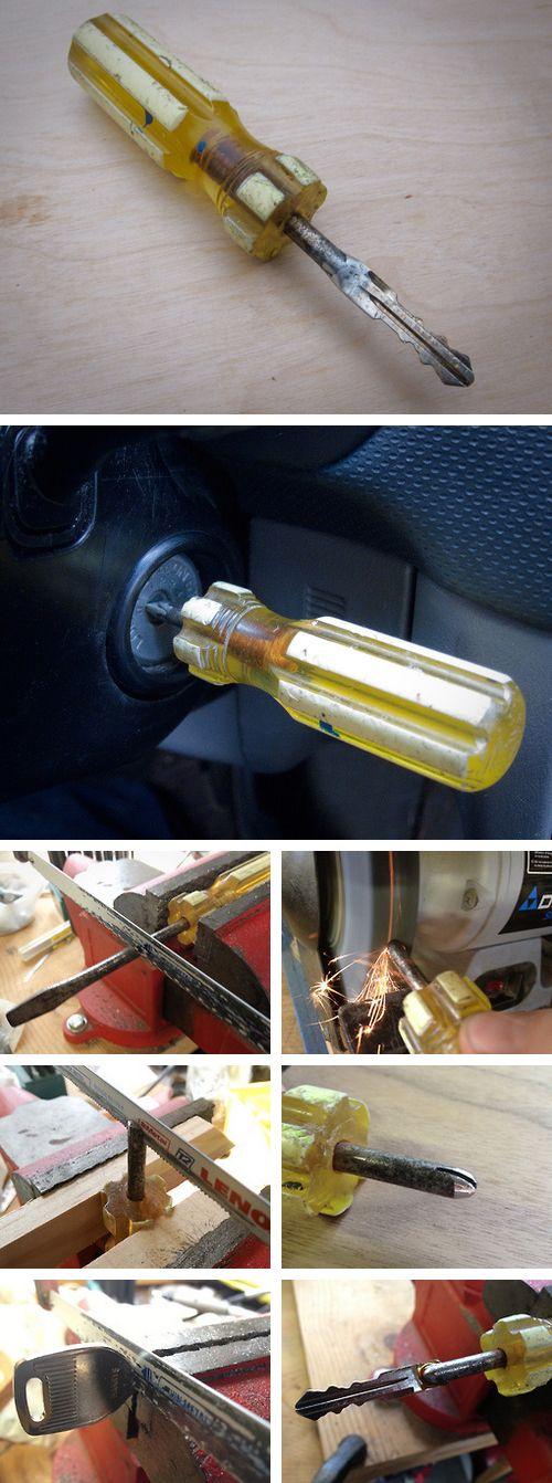 cool screwdriver #key :) #diy