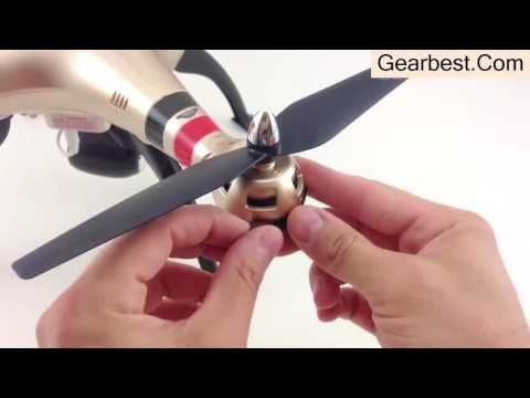Overview Quadcopter Syma X8HW from Gearbest