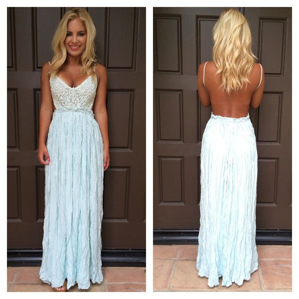Evening in Paris Maxi Dress - MINT | Dainty Hooligan Boutique