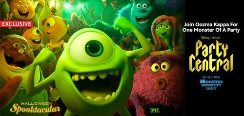 Monsters University Invites You to Party Central Clip