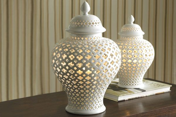 "Beautiful ""lanterns""...great for a centerpiece, a mantle, a coffee table, an outdoor patio.  -  pomegranita.com"