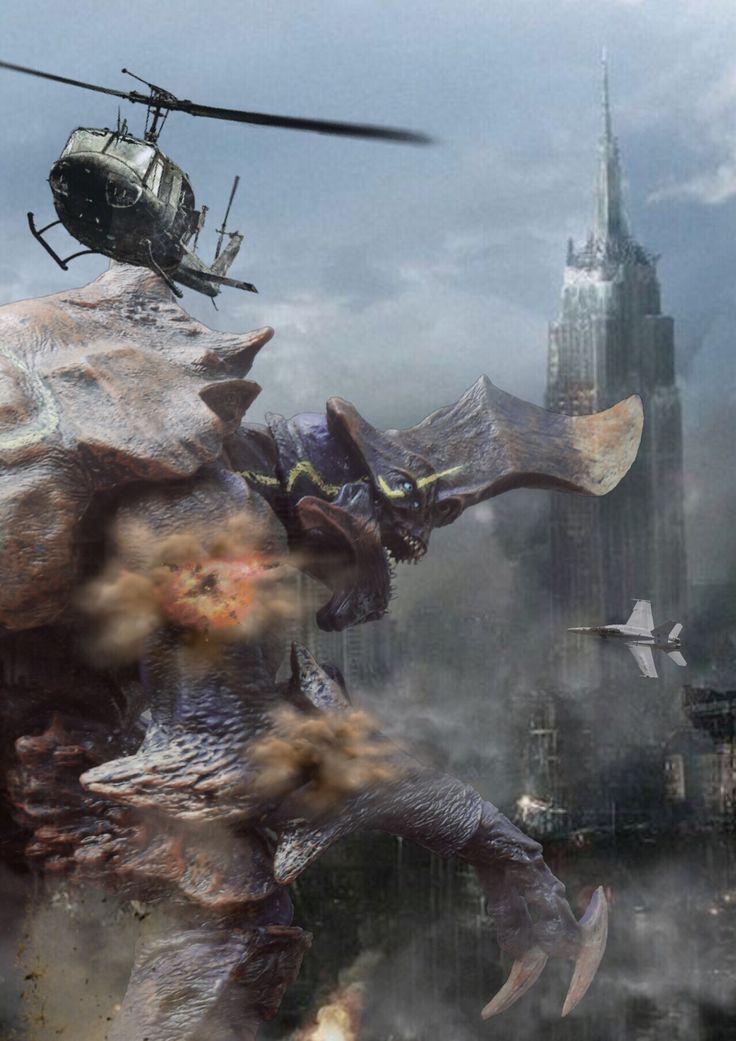 KAIJU ATTACK by Pacific Shatterdome. NECA Ultra Deluxe Kaiju Hardship. IG: pacific_shatterdome.