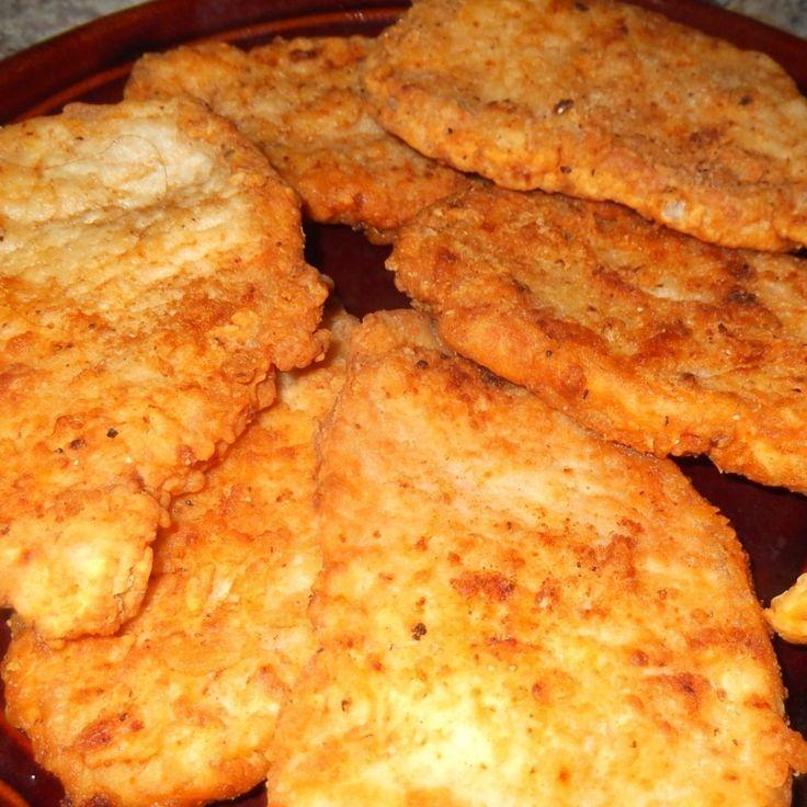 Yum! I'd Pinch That | Crispy Southern Fried Pork Chops #recipe