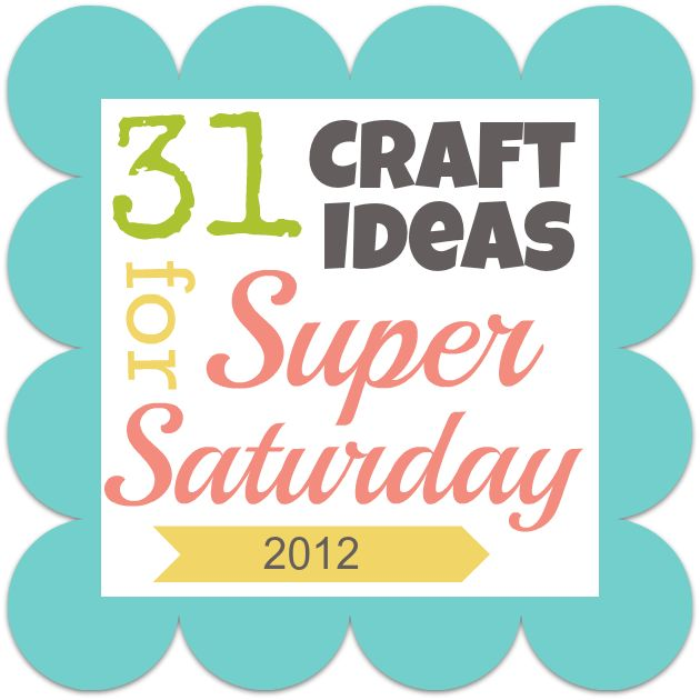 31 SIMPLE craft ideas for group get togethers!   #supersaturday