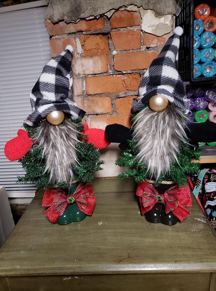 Dollar Tree Christmas Tree Gnomes Photo Only Dollar Tree Christmas Christmas Decor Diy Christmas Knomes