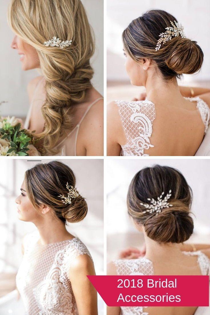 stunning bridal hair accessories #affiliate #bridalhair