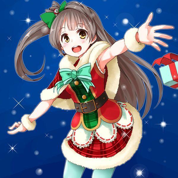 41 best Christmas Art images on Pinterest | Anime girls, Anime art ...