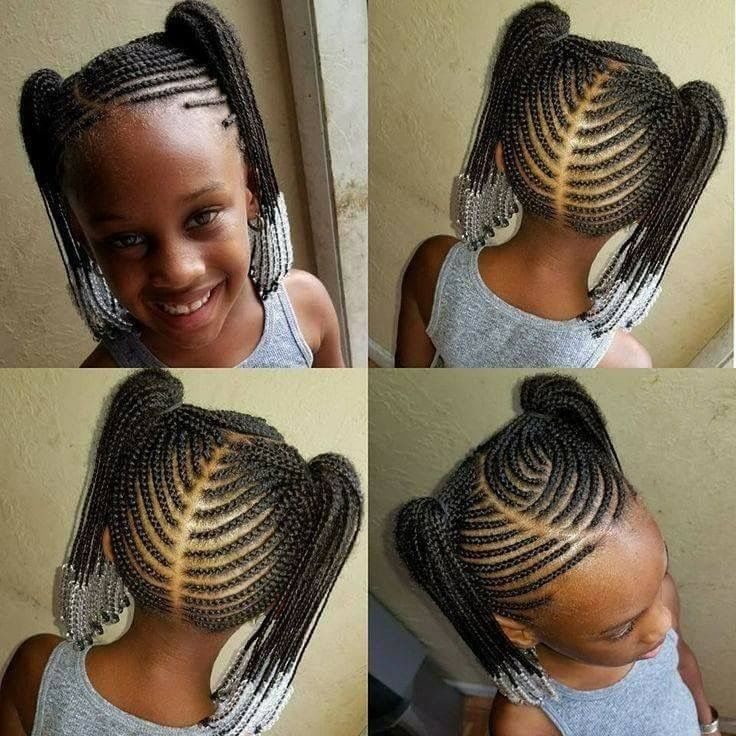 Pin By Corrine Hamilton On Kids Hair In 2019 Lil Girl