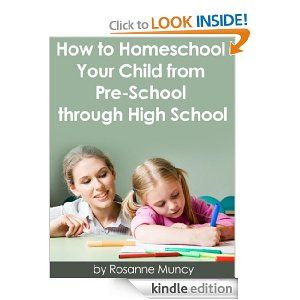 How to Homeschool Your Child from Pre-school through High School. and many other e-books are free toda! (2013.8.16)