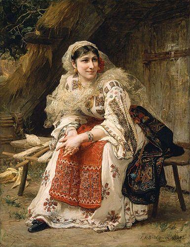 Frederick Arthur Bridgman, Armenian Woman