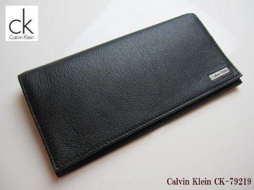 長財布 Calvin Klein カルバン・クライン 本革 レザー ブラック CK79219