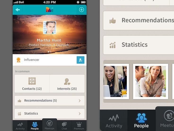 an app (profile) by zee7 ✽