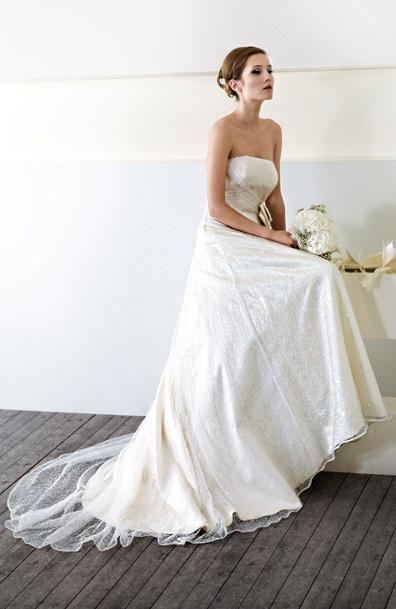 Abito da sposa modello Giulia - CieloBlu Sposa