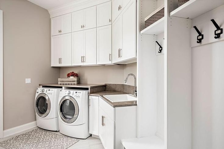 601 best laundry rooms mudrooms images on pinterest for Bathroom mudroom combo