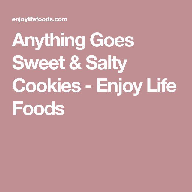 Anything Goes Sweet & Salty Cookies - Enjoy Life Foods