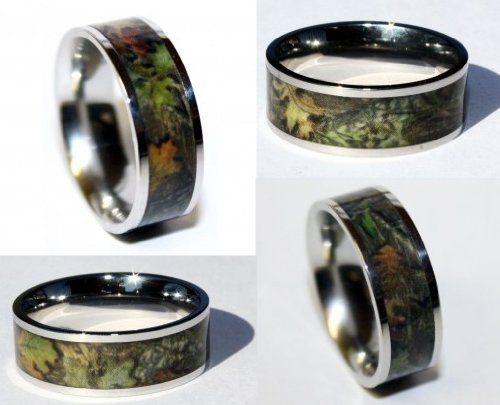 camo wedding rings redneck wedding ideas - Redneck Wedding Rings