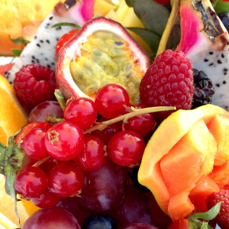 Best fruit salad at Blue Marlin Ibiza near Dubai.