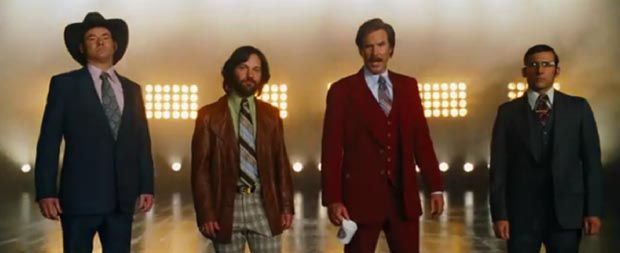 Not only do we have the poster, we now have the first trailer...Legends Continuous, Continuous Trailers, Movie News, Paul Rudd, Official Videos, Official Anchorman, Anchorman 2, News Team, Official Trailers