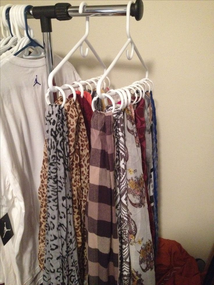 17 best ideas about hang scarves on pinterest organizing for Hat hanging ideas