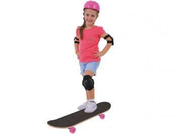 Conjunto Skate Radical Girl Com Lixa e Acessórios - Xalingo