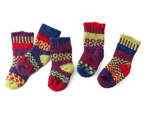 Look what I found at UncommonGoods: baby dragonfly mismatched sock set...