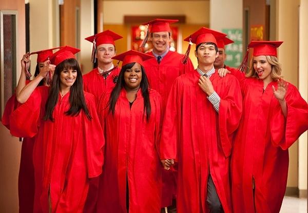 GLEE CAST graduates!