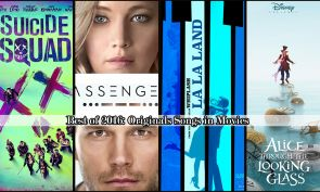 #RyanGosling Best of 2016 su Telefilm Central: Migliori canzoni originali per film