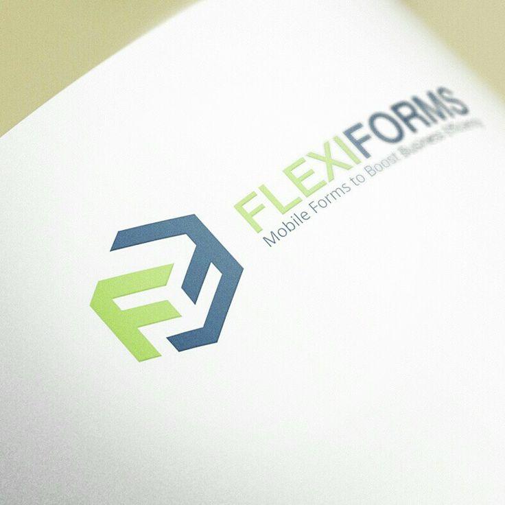 Logo design for flexiforms by Gian Mercado
