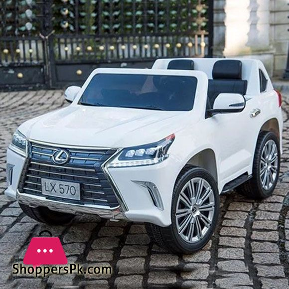 Buy Lexus Lx 570 Toddler 4wd Remote Control Ride On Car Foam Tyre 2 Seats At Best Price In Pakistan In 2020 Lexus 4wd Lexus Lx570