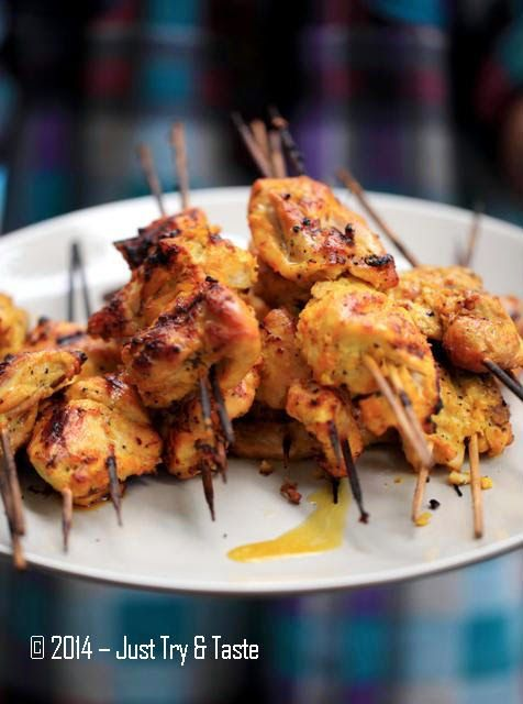 Just Try & Taste: Joojeh Kabab - Kebab Ayam a la Persia