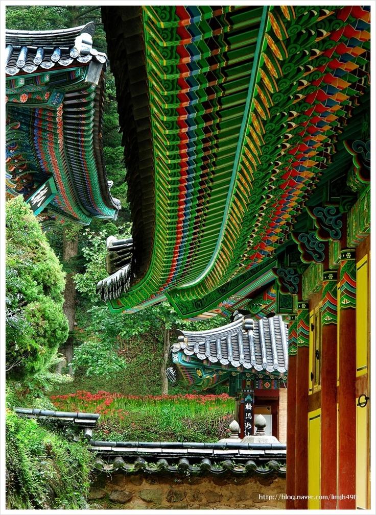 Ssanggye temple, Hadong, South Gyeongsang