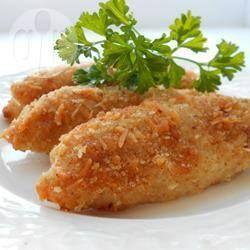 Milanesas de pollo con ajo y parmesano @ allrecipes.com.ar