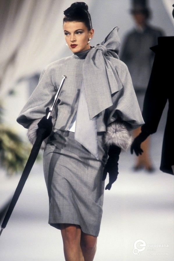 Gianfranco Ferré for Christian Dior, Autumn-Winter 1989