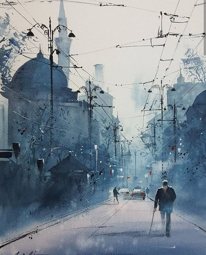 The Best Watercolor On Instagram Watercolor By Javid Tabatabaei